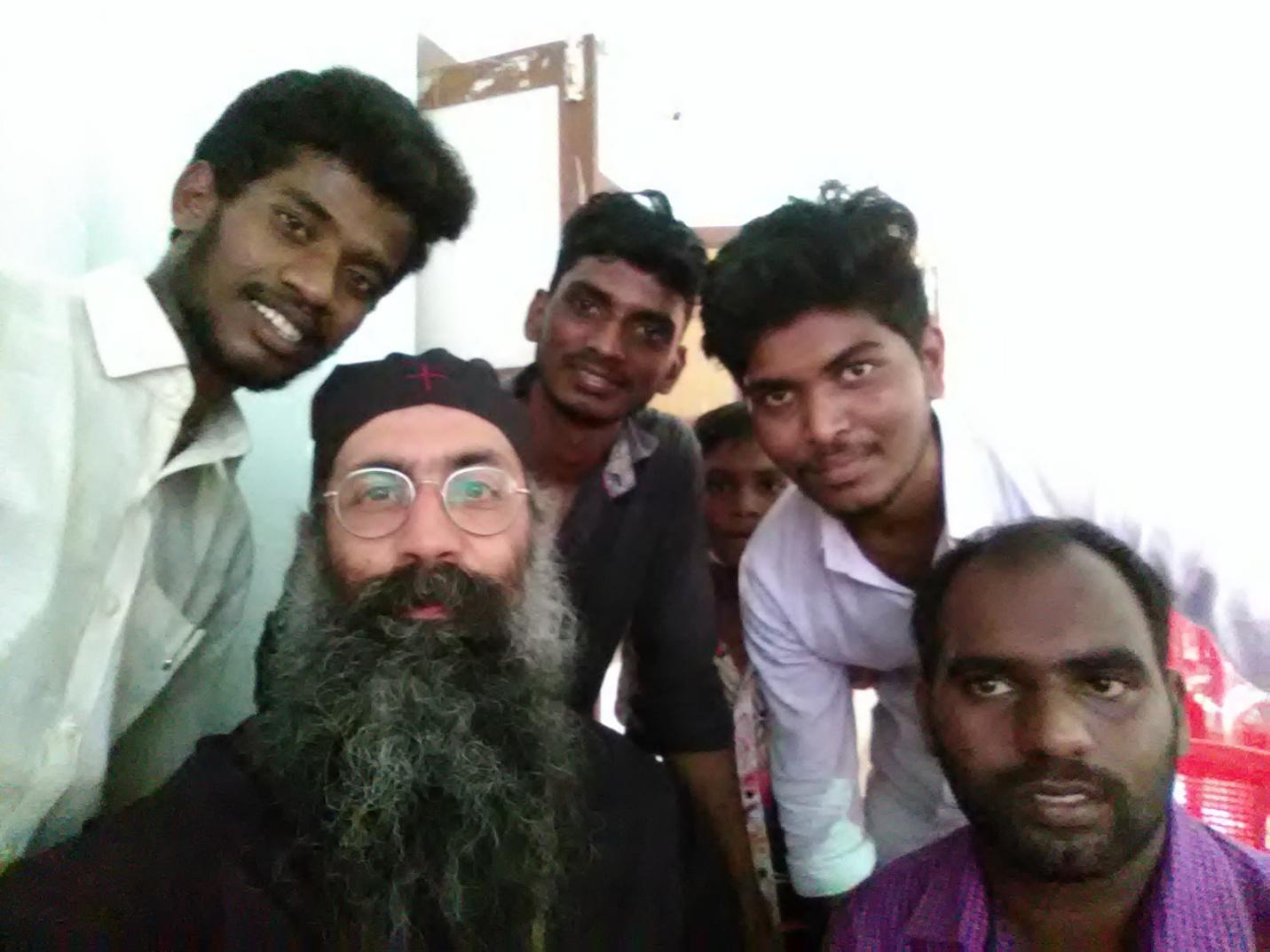 A selfie with some of the guys at the conference